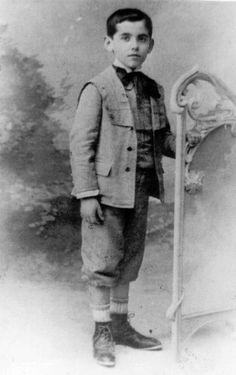 2.Federico García Lorca de pequeño
