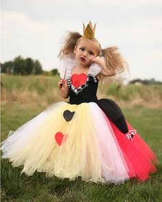 Queen of Hearts Tutu Dress and Crown Headband
