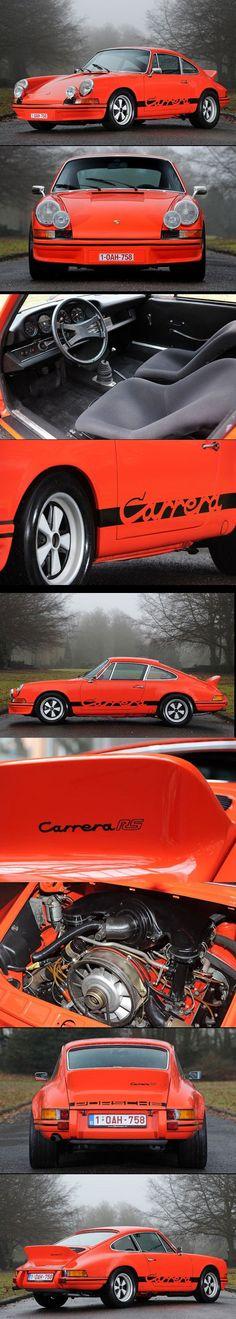 #Porsche #911 #Carrera 2.7 RS Lightweight #Concept 1973