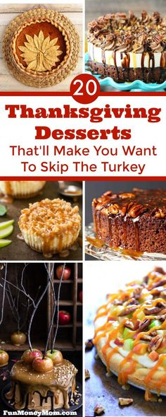 Thanksgiving Desserts That'll Make You Want To Skip Turkey Hosting Thanksgiving dinner? Good luck deciding which of these mouthwatering Thanksgiving desserts to serve! Thanksgiving Menu List, Thanksgiving Dinner Recipes, Hosting Thanksgiving, Holiday Recipes, Thanksgiving Turkey, Holiday Pies, Christmas Desserts, Holiday Treats, Christmas Holiday