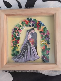 Wedding Quilling Ideas, Paper Crafts Wedding, Easy Paper Crafts, Craft Wedding, Diy And Crafts, 3d Quilling, Quilling Flowers, Quilling Patterns, Quilling Designs