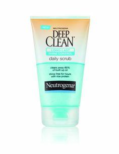 Neutrogena Deep Clean Shine Control Daily Scrub, 4.2 Ounce
