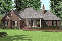 Has everything I want and with a few modifications it would be perfect. House Plan 406-143