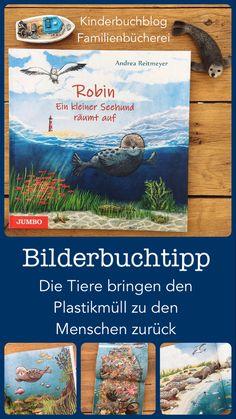 Plastik im Meer - Ein Bilderbuchtipp Best Parenting Books, Gentle Parenting, Kids And Parenting, Plastic In The Sea, Plastic Problems, Love Statue, Parent Tattoos, Visual Memory, Attachment Parenting