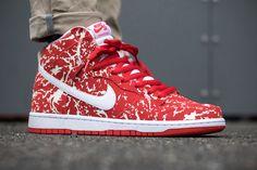 Nike Dunk High Pro SB Kobe 'Raw Meat' (Challenge Red)