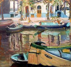 Henricus Johannes 'Harrie' Kuijten (Utrecht 1883-1952 Schoorl) Keizersgracht, Amsterdam