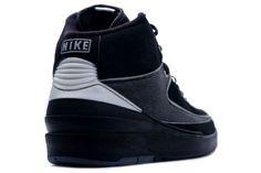 Air Jordan 2 II Retro Black Chrome Shoes $99