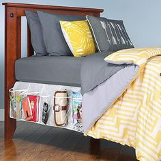 The 35 Top Dorm Room Hacks on Pinterest via Brit + Co                                                                                                                                                     More