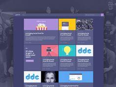 Mixpanel New Blog Design by Julien Renvoye for Mixpanel