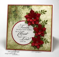 Linchpin By Seth Godin And Generate By Daniel Pink - Two Guides, One Particular Information A Savior Is Born By Cherylquilts - Cards And Paper Crafts At Splitcoaststampers Christmas Cards 2018, Religious Christmas Cards, Christmas Greeting Cards, Greeting Cards Handmade, Holiday Cards, Christmas Paper Crafts, Homemade Christmas Cards, Handmade Christmas, Homemade Cards
