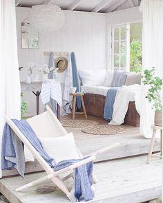 Blogg Home and Cottage: En sommerlig hagestue