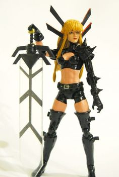 Marvel Now Magik (Marvel Legends) Custom Action Figure