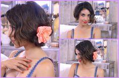 Fake Short Hair!  http://www.youtube.com/watch?v=_kDa9IMVrfY