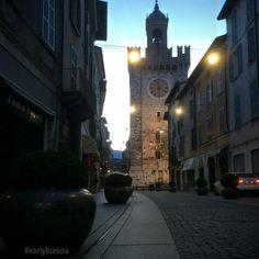Torre della Pallata Brescia #earlybrescia