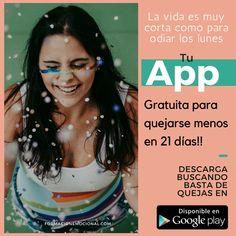 Acaba con las quejas con está App gratuita.  Sólo para Android.