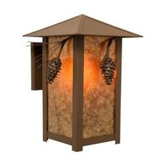 Loon Peak Baysidevillage 1-Light Outdoor Sconce Finish: Black, Shade Type: Khaki