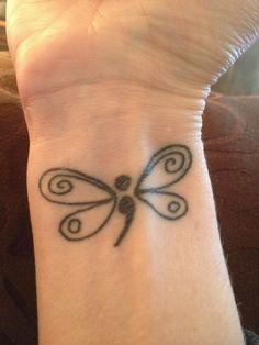 Semicolon Butterfly on Wrist - Cute Semicolon Tattoo Design Ideas, http://hative.com/cute-semicolon-tattoo-design-ideas/,