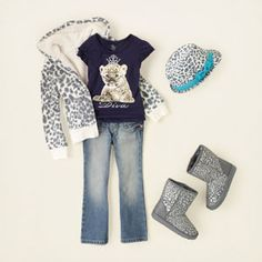 girl - outfits - animal pizazz - snow queen | Children's Clothing | Kids Clothes | The Children's Place