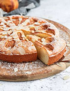 Passover Cake Recipe, Passover Recipes, Pear And Almond Cake, Pear Cake, Apple Cake, Gluten Free Almond Cake, Gluten Free Cakes, Dinner Party Desserts, Winter Desserts