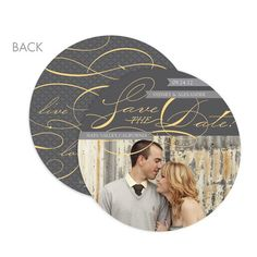 circle save the date cards