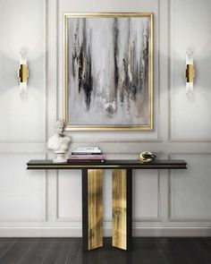 Modern Design and Living Art Deco Luxury Home Decor, Luxury Interior Design, Interior Decorating, Foyer Decorating, Decorating Ideas, Interior Modern, Decorating Websites, Scandinavian Interior, Modern Luxury