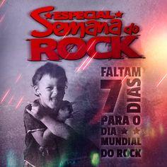#DiaMundialDoRock #Vitrola #13Julho #Faltam #7Dias Tudo começou em 1984, mas nesse ano estão faltando só 7 dias para o tão esperado DIA MUNDIAL DO ROCK!  Vamos unir o mundo inteiro pelo poder da música! \m/  Let's start rock!