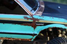 Tamiya Subaru Brat r/c body paint job.