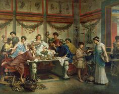 Foods of Ancient Rome: Recipes, images, dishes, and customs.