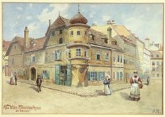 A total of 29 watercolors and drawings attributed to Adolf Hitler will be auctioned off at the Weidler auction house in Nuremberg, Germany