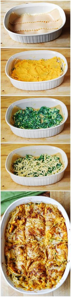 Read More About Butternut Squash and Spinach Lasagna Recipe...