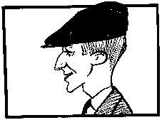 XIM zeichnete noch zu Lebzeiten diesen Brecht. Aber: wie heißt der französische Karkaturist XIM mit bürgerlichem Namen???