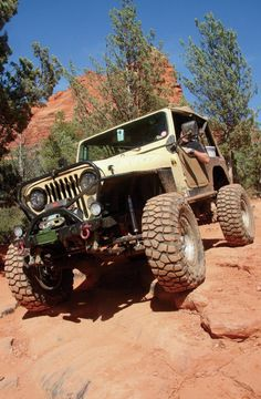 1985 Jeep CJ 7 Wheeling
