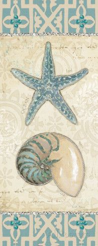 Beach Treasures I Art Print