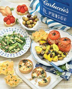 Carluccios picnic hamper