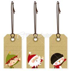 christma tag, printabl tag