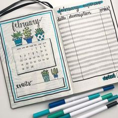 Cacti themed monthly layout