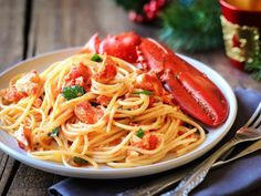 The Best Lobster Pasta Recipe. Lobster With Pasta And Mint Recipe NYT Cooking. The Best Lobster Pasta Recipe. Home and Family Lobster Pasta, Crab Pasta, Spaghetti Recipes, Pasta Salad Recipes, Seafood Recipes, Hummer, Imitation Crab Recipes, Joe Beef, Butter