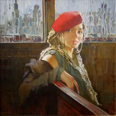 Kai Fine Art is an art website, shows painting and illustration works all over the world. Sculpture Art, Fine Art, Cartoon, Portrait, Drawings, Illustration, Photography, Beret, Hat