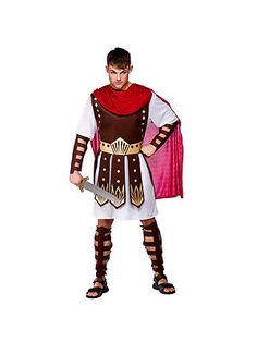 #Adult roman centurion outfit fancy dress costume #gladiator warrior mens #gents,  View more on the LINK: http://www.zeppy.io/product/gb/2/201525090726/