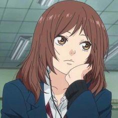 Futaba Y Kou, Futaba Yoshioka, Anime Girl Drawings, Anime Art Girl, Anime Girls, Kou Diabolik Lovers, Chibi, Blue Springs Ride, Aesthetic Anime