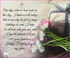 Wish your most favourite person in the whole world a big happy birthday with these 70 love birthday messages, and tell 'em that you're so happy on this day! Christian Birthday Wishes, Birthday Wishes For Lover, Romantic Birthday Wishes, Happy Birthday Babe, Happy Birthday Messages, Birthday Love, Husband Birthday, Birthday Cards, Love You Poems