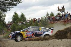 Citroen C4 WRC rally car - Kimi Räikkönen