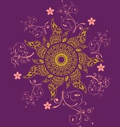 "'Mandala Gold Flower' Poster by Athesti Ispiration from the Disney movie "" Tangled"". Rapunzel Sun, Tangled Sun, Tangled Flower, Disney Rapunzel, Arte Disney, Disney Fan Art, Tangled Wedding, Disney Mandala Tattoo, Mandala Sun Tattoo"