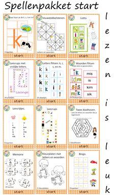 Lezen met kernen – Weg van onderwijs Dutch Language, Scandal Abc, First Grade, Spelling, Circuit, Classroom, Teacher, Learning, Choices