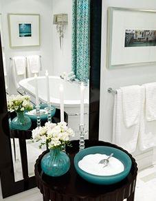 Sarah's House 1 - Bathroom    More lusciousness at www.myLusciousLife.com