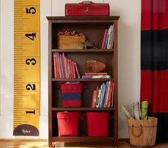 Measuring Tape Growth Chart | Pottery Barn Kids - playroom