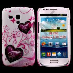 Valentine (2 Purple Hearts) Samsung Galaxy S3 Mini Deksel
