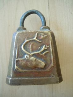 Vintage Cow Sheep Bell with Picture of Deer Norge Farm Bell | eBay