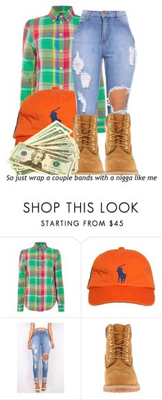 """Polo"" by chynaloggins ❤ liked on Polyvore featuring Polo Ralph Lauren, Ralph Lauren and Timberland"