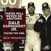 "Rick Hendricks says,""there will only be one Dale Earnhardt Jr."" (and I couldn't agree with him more)..♥️#88"
